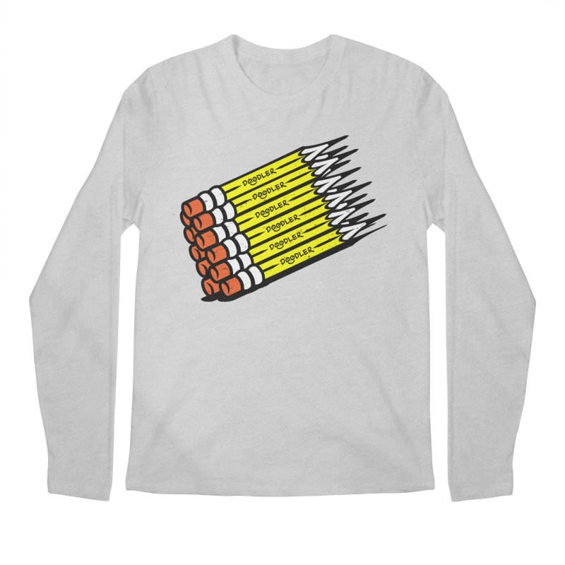 My Pencils Men's Longsleeve T-Shirt by rskamesado's Artist Shop