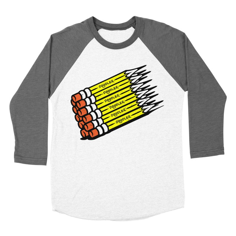 My Pencils Women's Baseball Triblend T-Shirt by rskamesado's Artist Shop