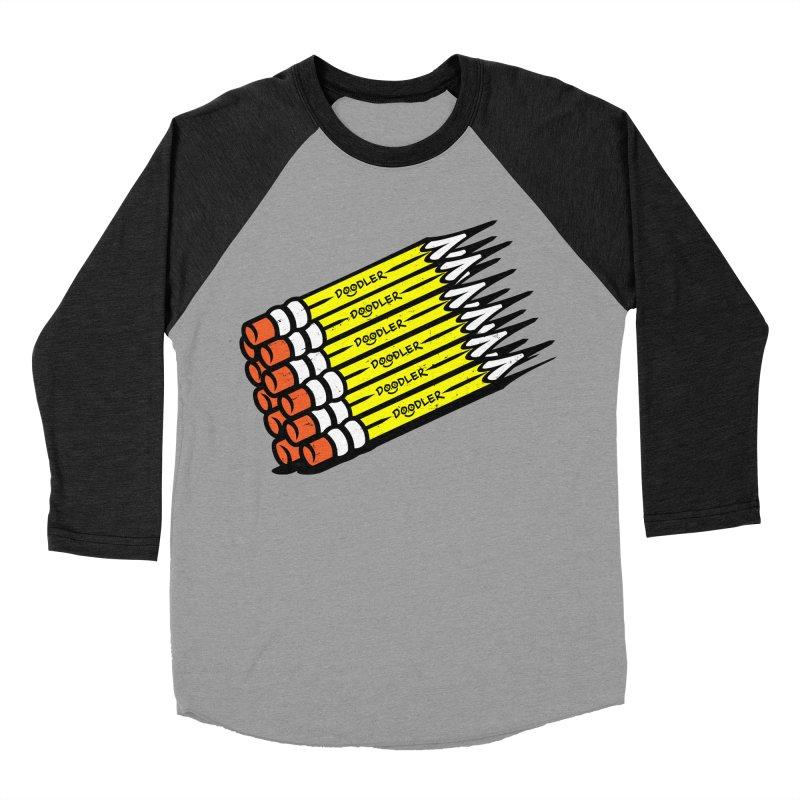My Pencils Women's Baseball Triblend T-Shirt by rskamesado's Artist Shop