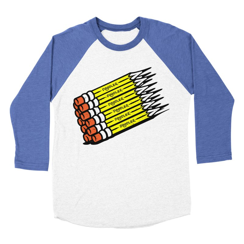 My Pencils Men's Baseball Triblend T-Shirt by rskamesado's Artist Shop