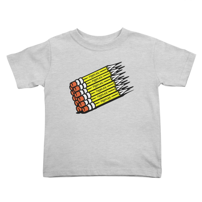 My Pencils Kids Toddler T-Shirt by rskamesado's Artist Shop