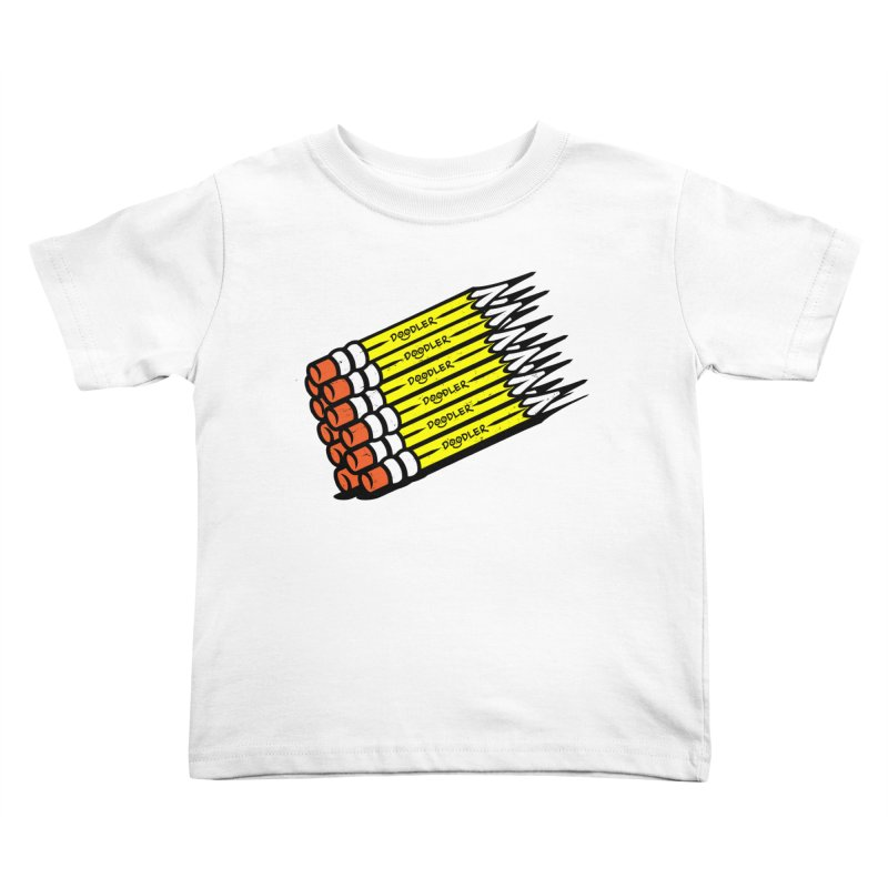 My Pencils Kids Toddler T-Shirt by rskamesado's Artist Shop