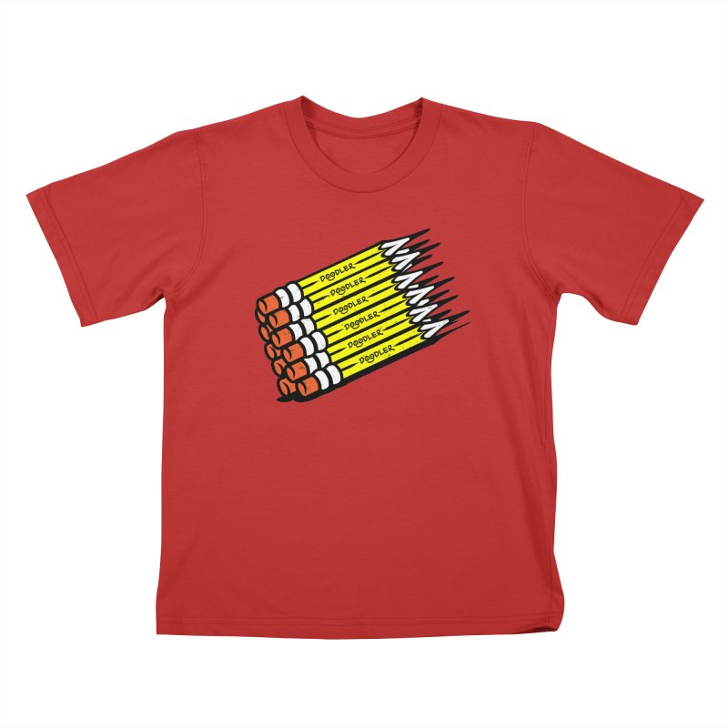 My Pencils Kids T-Shirt by rskamesado's Artist Shop