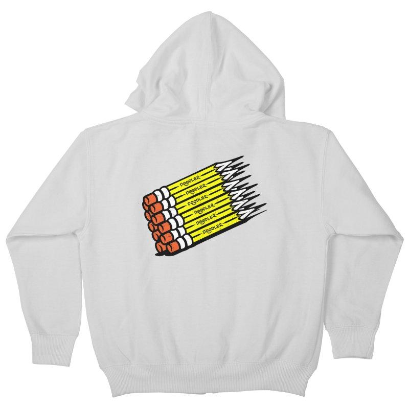 My Pencils Kids Zip-Up Hoody by rskamesado's Artist Shop