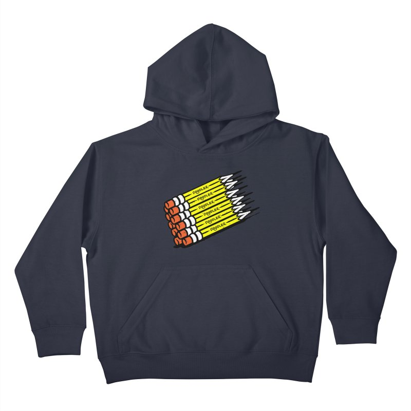 My Pencils Kids Pullover Hoody by rskamesado's Artist Shop