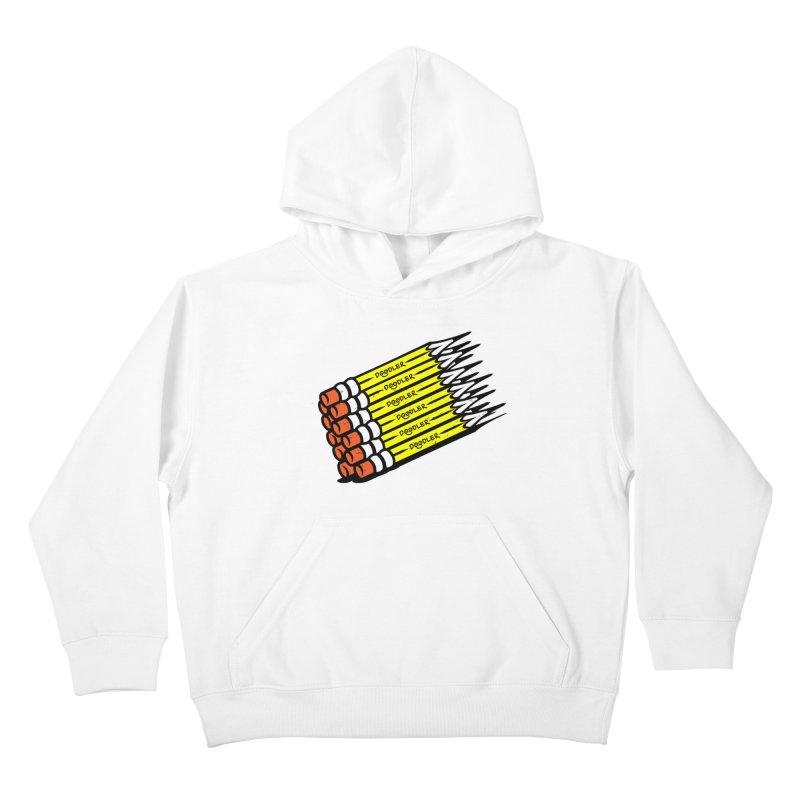My Pencils Kids Pullover Hoody by rskamesado's Artist Shop