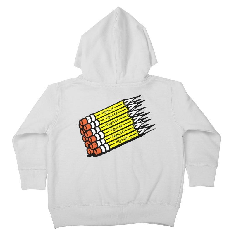 My Pencils Kids Toddler Zip-Up Hoody by rskamesado's Artist Shop