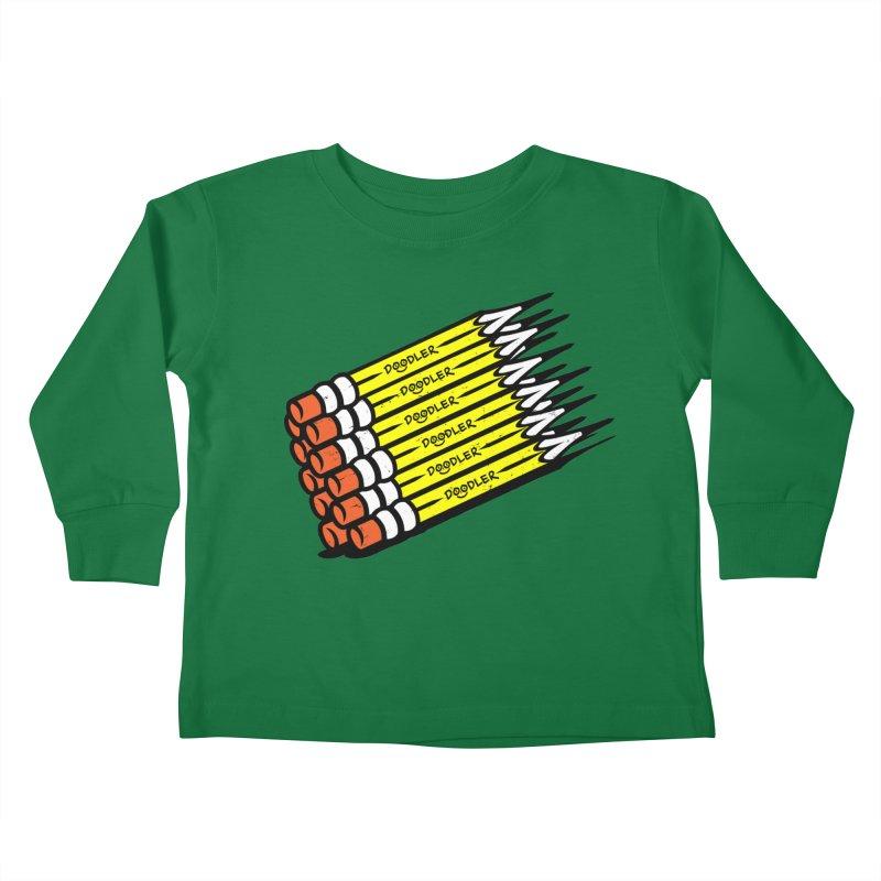 My Pencils Kids Toddler Longsleeve T-Shirt by rskamesado's Artist Shop