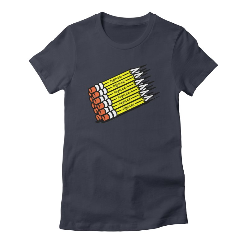 My Pencils Women's Fitted T-Shirt by rskamesado's Artist Shop