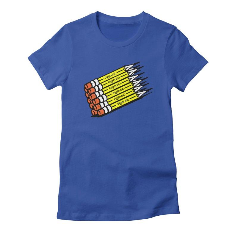 My Pencils Women's Fitted T-Shirt by rskamesado's Artist Shop