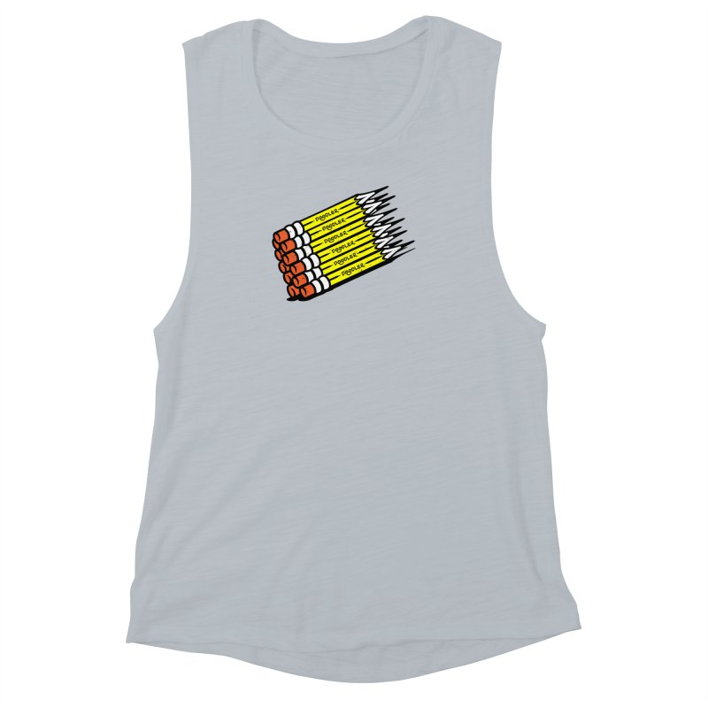 My Pencils Women's Muscle Tank by rskamesado's Artist Shop