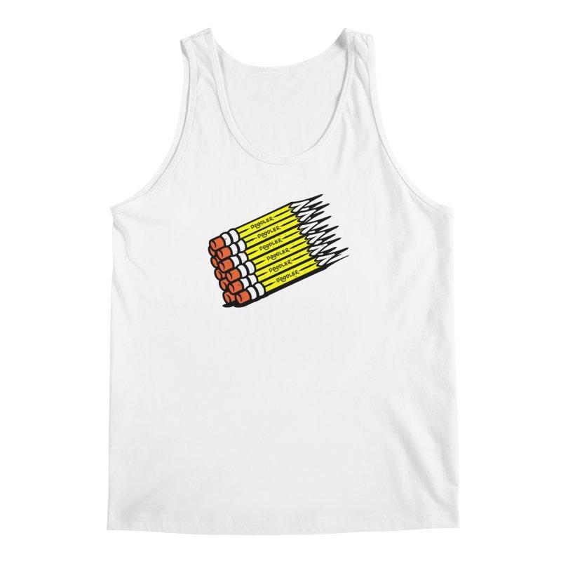 My Pencils Men's Tank by rskamesado's Artist Shop