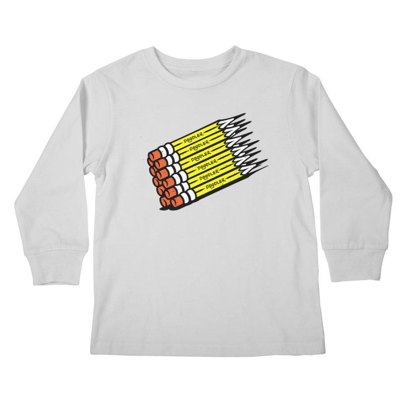 My Pencils Kids Longsleeve T-Shirt by rskamesado's Artist Shop
