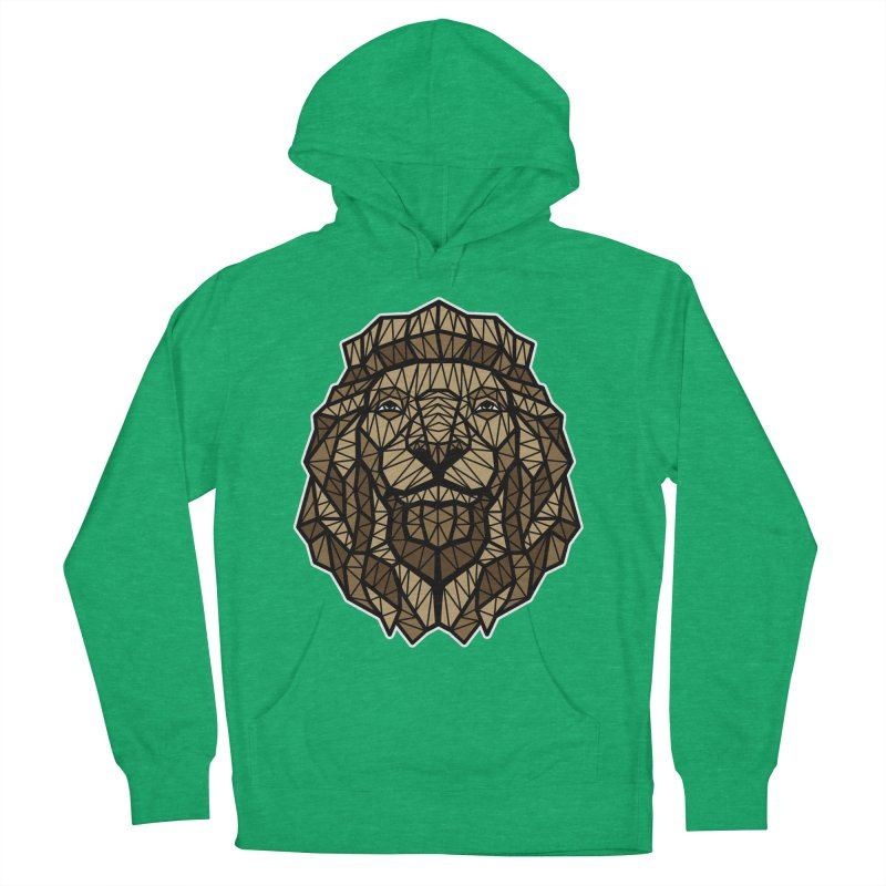 Browny Lion  Men's Pullover Hoody by rskamesado's Artist Shop