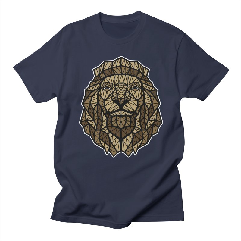 Browny Lion  Men's T-Shirt by rskamesado's Artist Shop