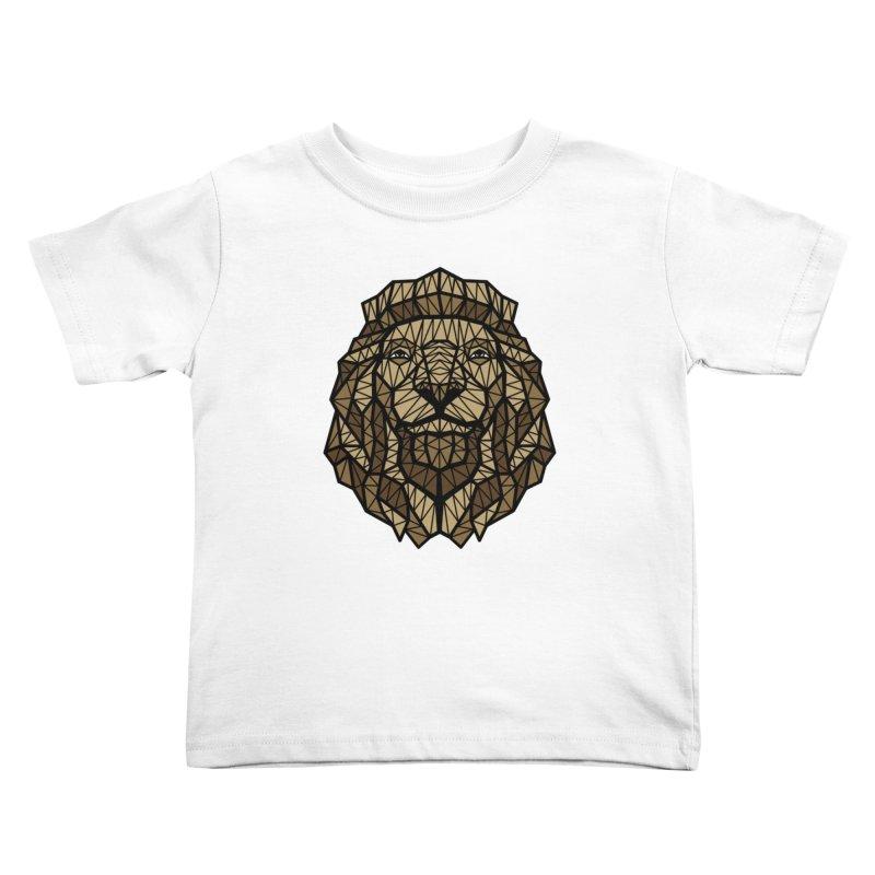 Browny Lion  Kids Toddler T-Shirt by rskamesado's Artist Shop