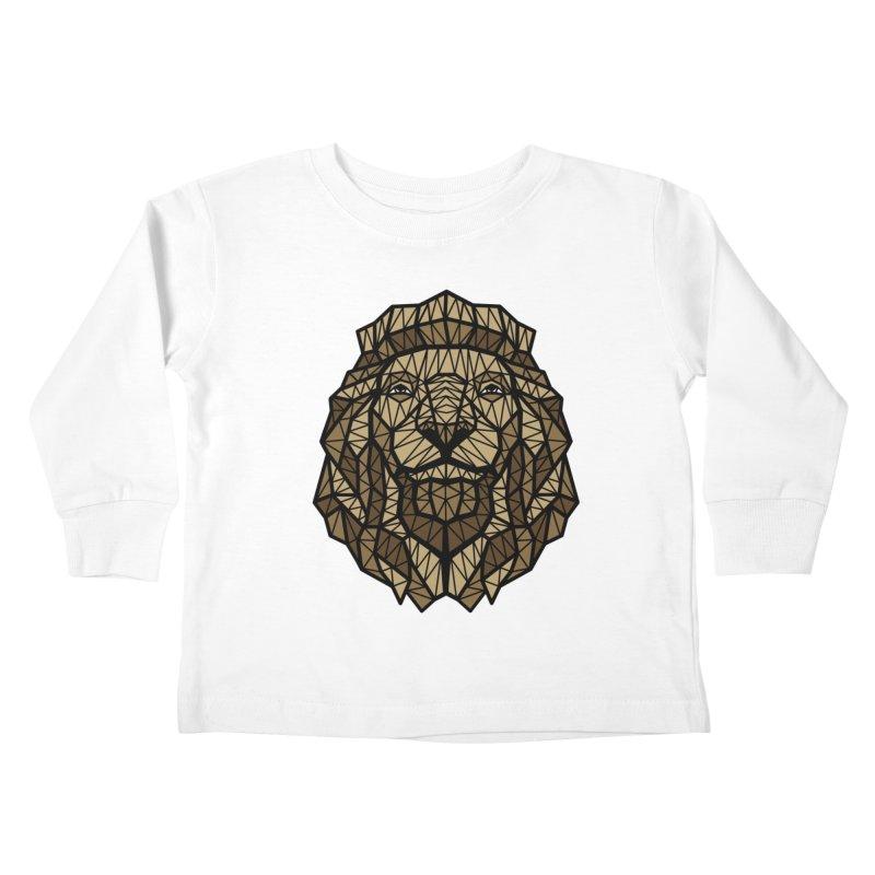 Browny Lion  Kids Toddler Longsleeve T-Shirt by rskamesado's Artist Shop