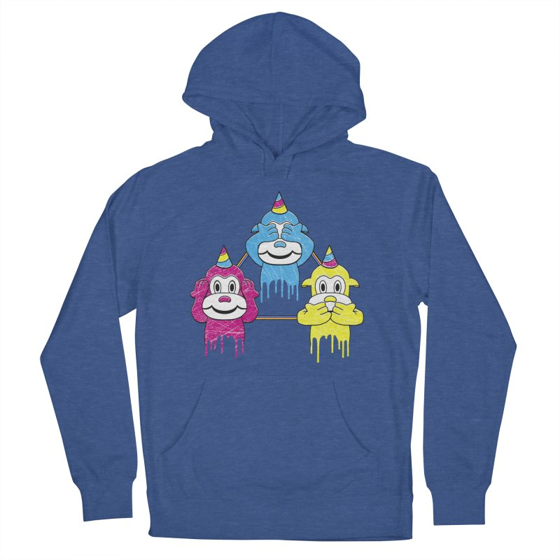 Wise Monkeys Men's Pullover Hoody by rskamesado's Artist Shop