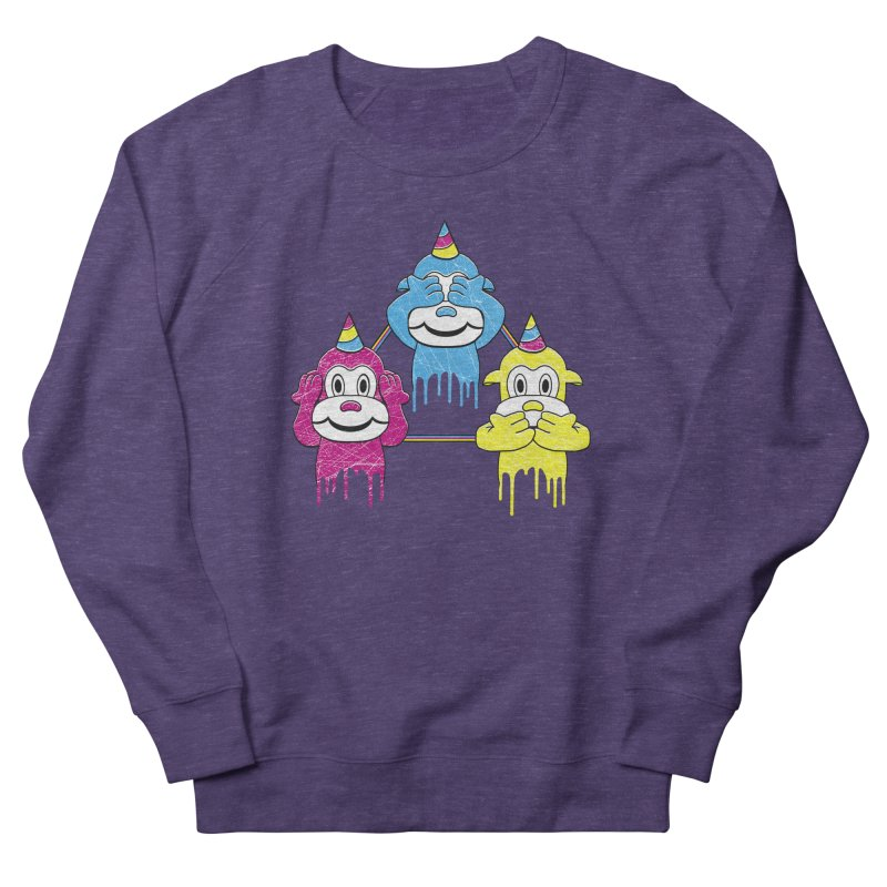 Wise Monkeys Women's Sweatshirt by rskamesado's Artist Shop