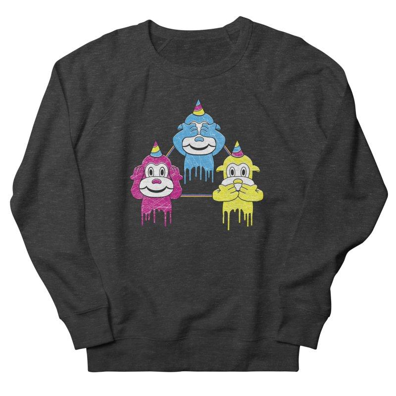 Wise Monkeys Men's Sweatshirt by rskamesado's Artist Shop