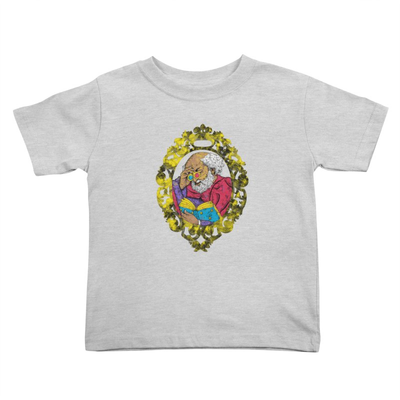 Reading in 3D Kids Toddler T-Shirt by rskamesado's Artist Shop