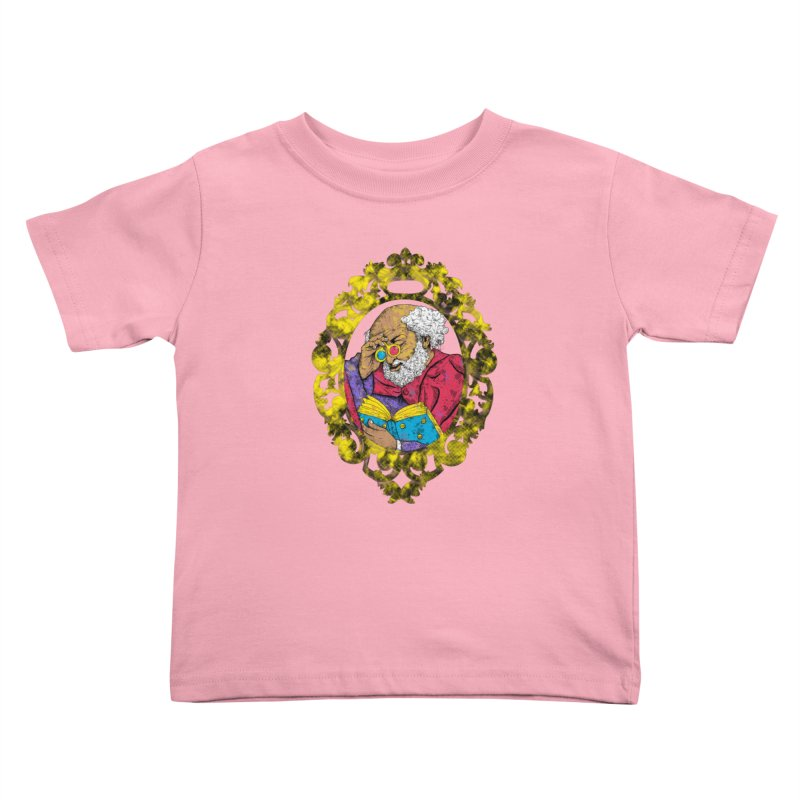 Reading in 3D Kids Toddler T-Shirt by rskamesado's Artist Shop