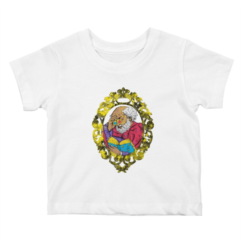 Reading in 3D Kids Baby T-Shirt by rskamesado's Artist Shop