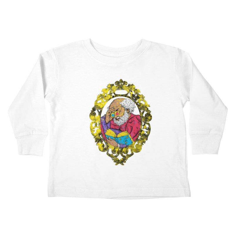 Reading in 3D Kids Toddler Longsleeve T-Shirt by rskamesado's Artist Shop