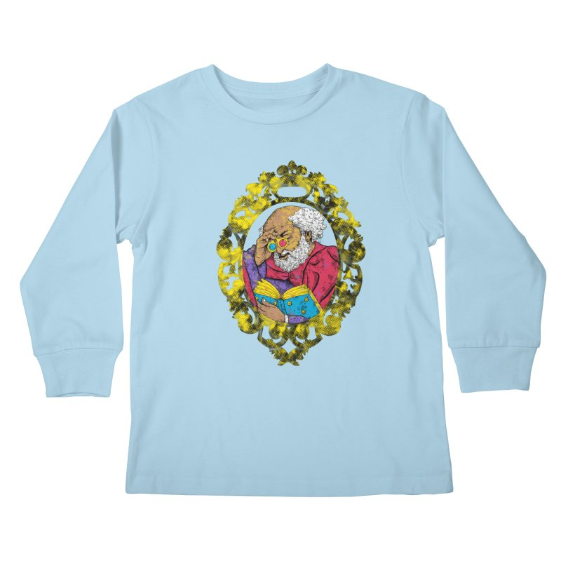 Reading in 3D Kids Longsleeve T-Shirt by rskamesado's Artist Shop