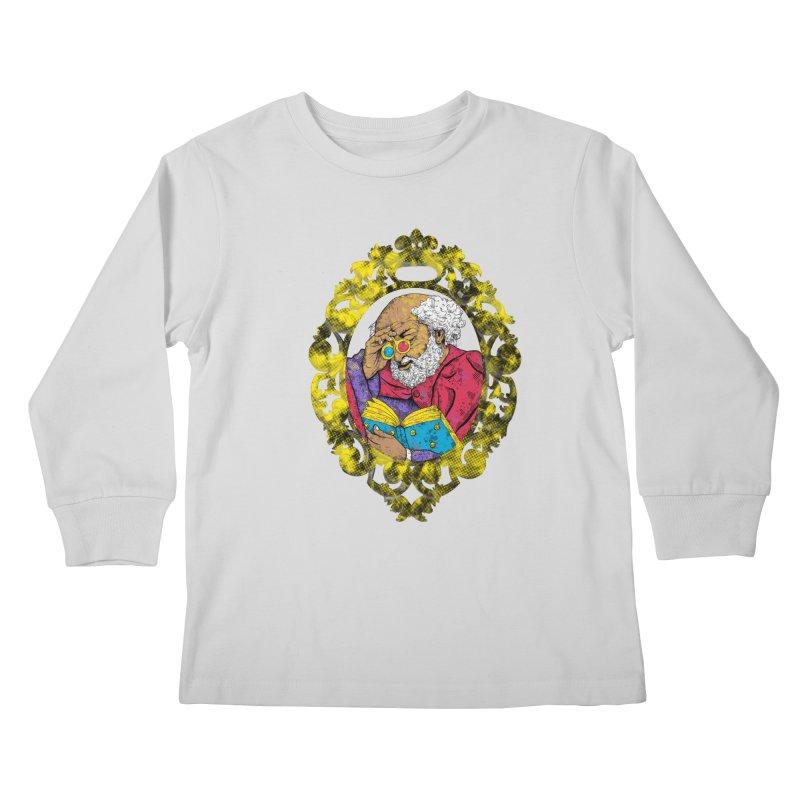 Reading in 3D Kids Longsleeve T-Shirt by rskamesado's Artist Shop
