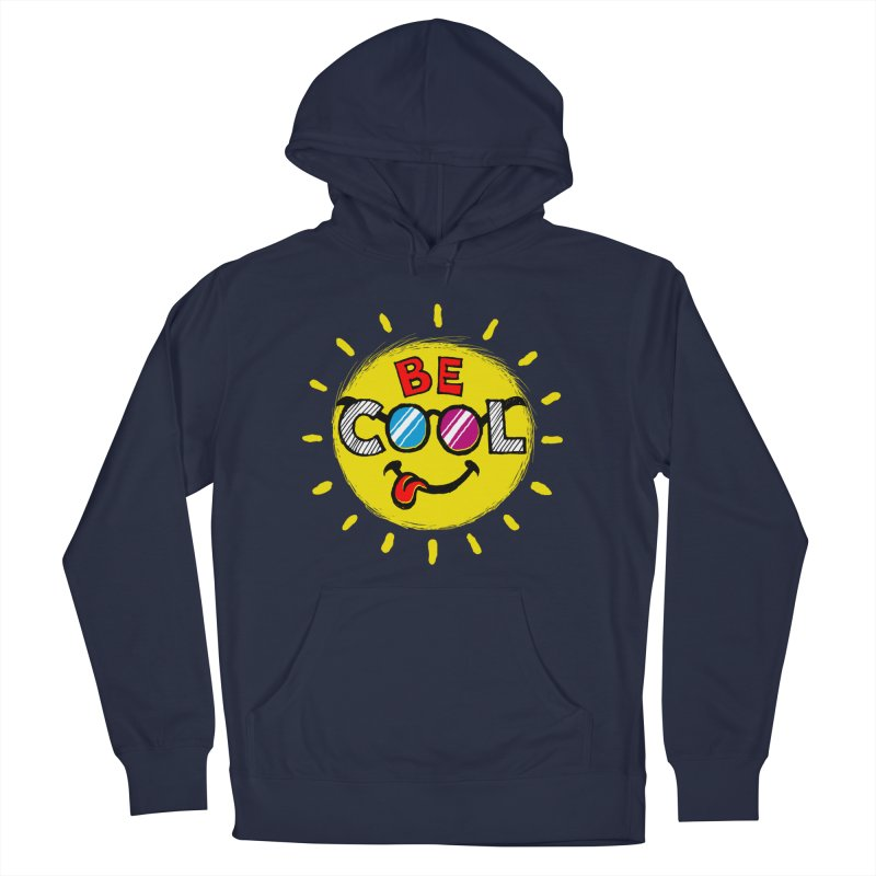 Be Cool. Men's Pullover Hoody by rskamesado's Artist Shop