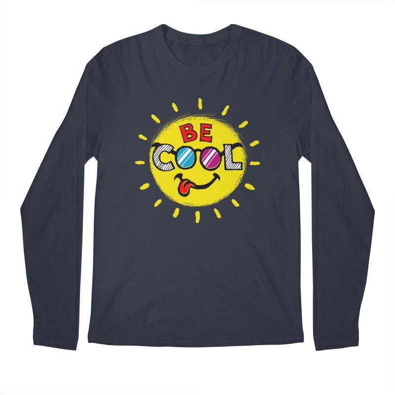 Be Cool. Men's Longsleeve T-Shirt by rskamesado's Artist Shop