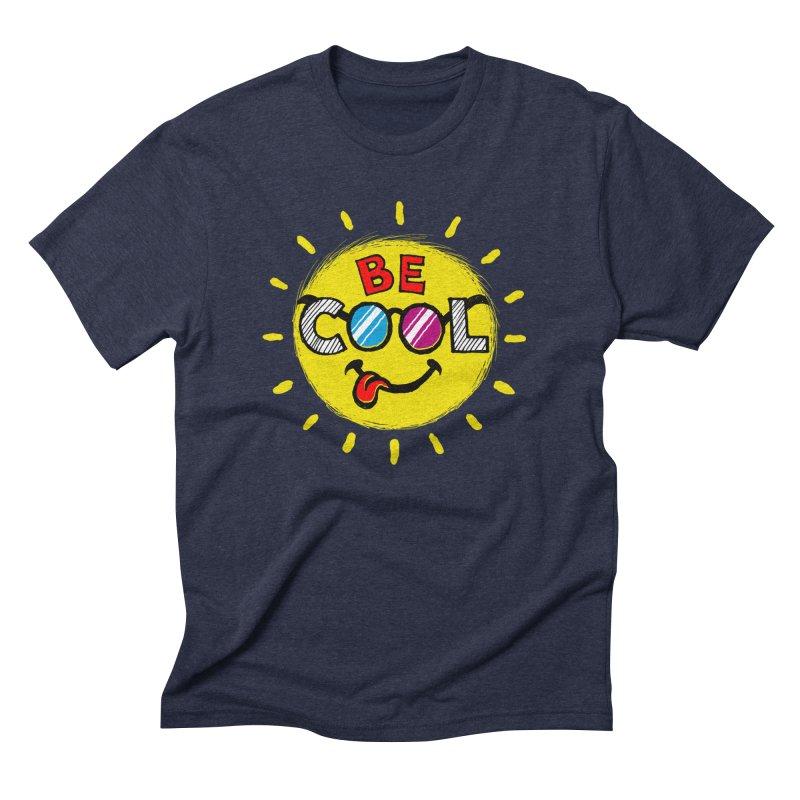 Be Cool. Men's Triblend T-Shirt by rskamesado's Artist Shop