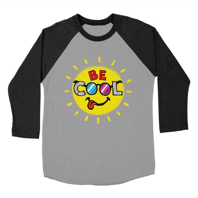 Be Cool. Men's Baseball Triblend T-Shirt by rskamesado's Artist Shop