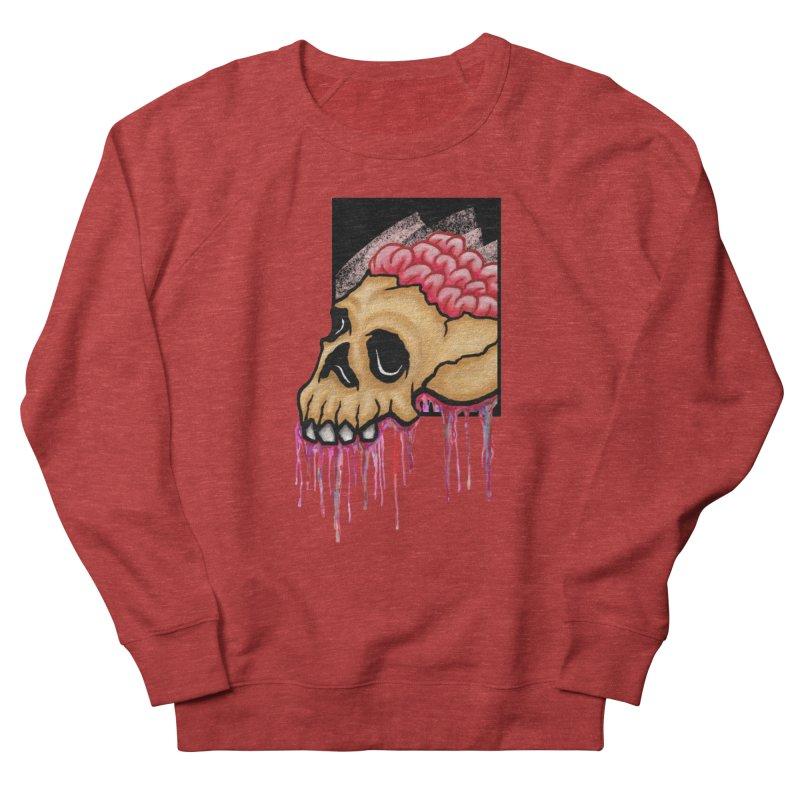 Skull and Brain Women's Sweatshirt by rskamesado's Artist Shop
