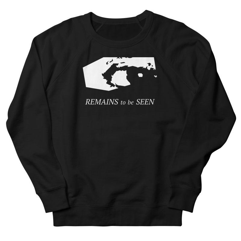 Remains to be Seen Men's French Terry Sweatshirt by DEATHFORMS