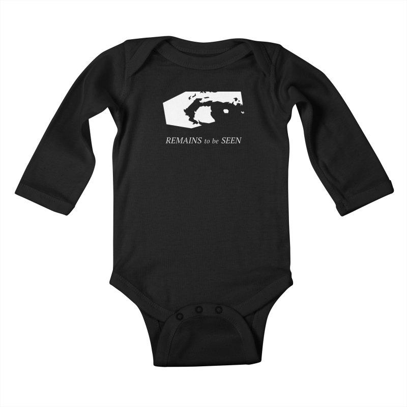 Remains to be Seen Kids Baby Longsleeve Bodysuit by DEATHFORMS
