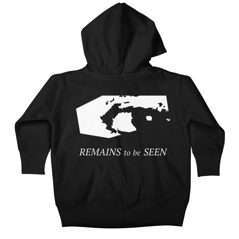 Remains to be Seen Kids Baby Zip-Up Hoody by DEATHFORMS