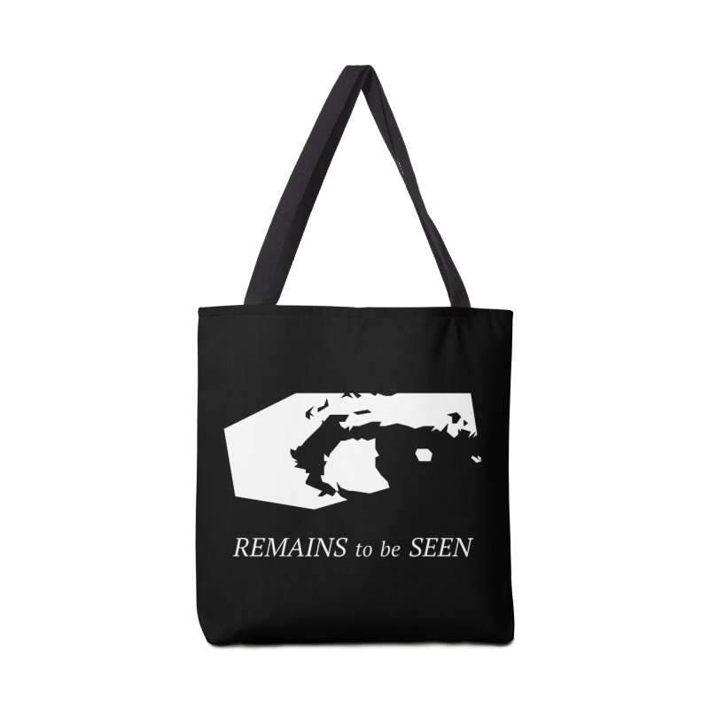 Remains to be Seen Accessories Tote Bag Bag by DEATHFORMS