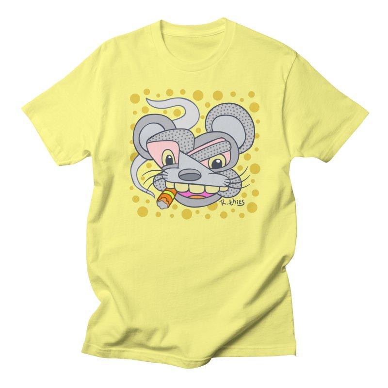Big Cheese Men's T-Shirt by R. THiES: Cartoonism