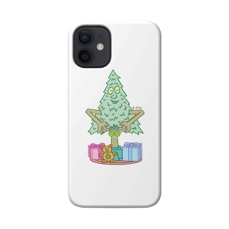 Jingle Balls Accessories Phone Case by R. THiES: Cartoonism