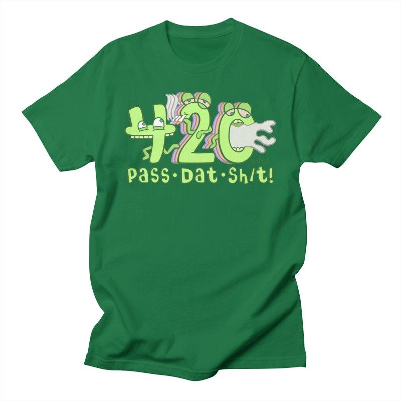 PASS DAT SH/T! Men's T-Shirt by R. THiES: Cartoonism