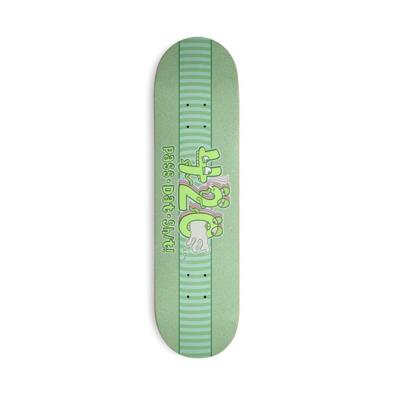 PASS DAT SH/T! Accessories Skateboard by R. THiES: Cartoonism