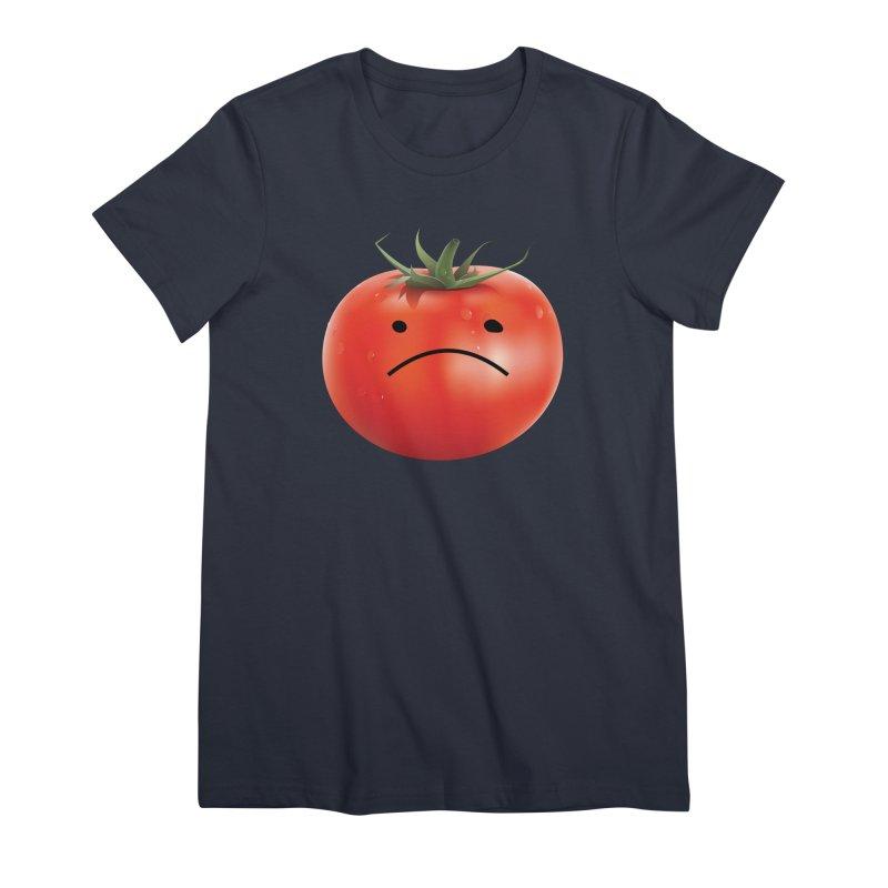 Mad Tomato Women's T-Shirt by rubberdanpants