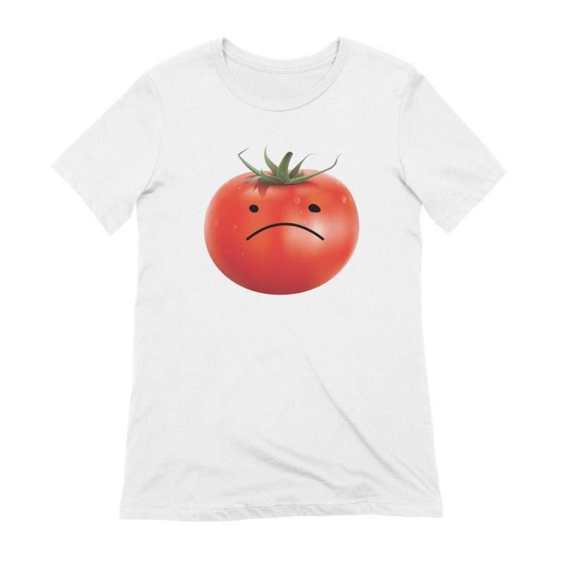 Mad Tomato Women's Extra Soft T-Shirt by rubberdanpants
