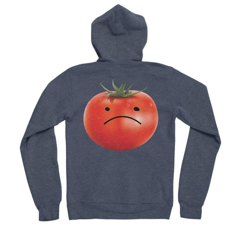 Mad Tomato Women's Sponge Fleece Zip-Up Hoody by rubberdanpants