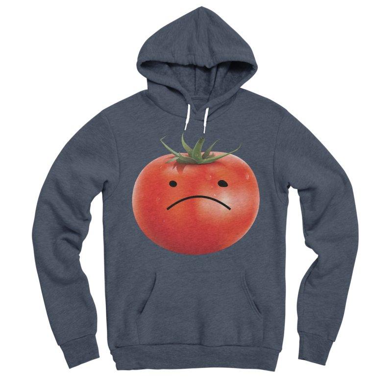 Mad Tomato Men's Sponge Fleece Pullover Hoody by rubberdanpants