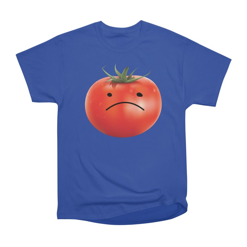 Mad Tomato Men's Heavyweight T-Shirt by rubberdanpants