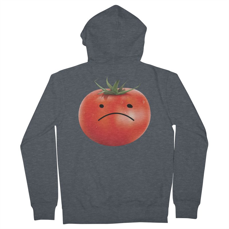 Mad Tomato Women's French Terry Zip-Up Hoody by rubberdanpants