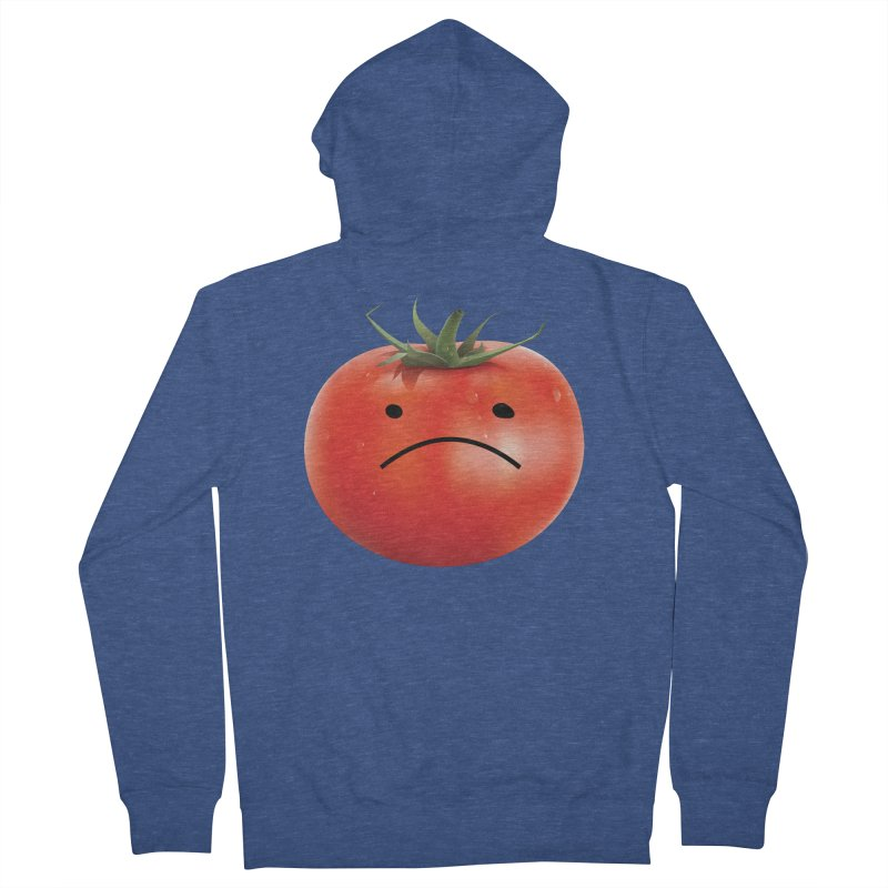 Mad Tomato Men's French Terry Zip-Up Hoody by rubberdanpants